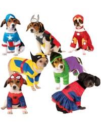 Superhero Dog Costumes Marvel Universe Halloween