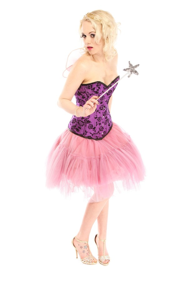 PURPLE AND PINK FAIRY COSTUME