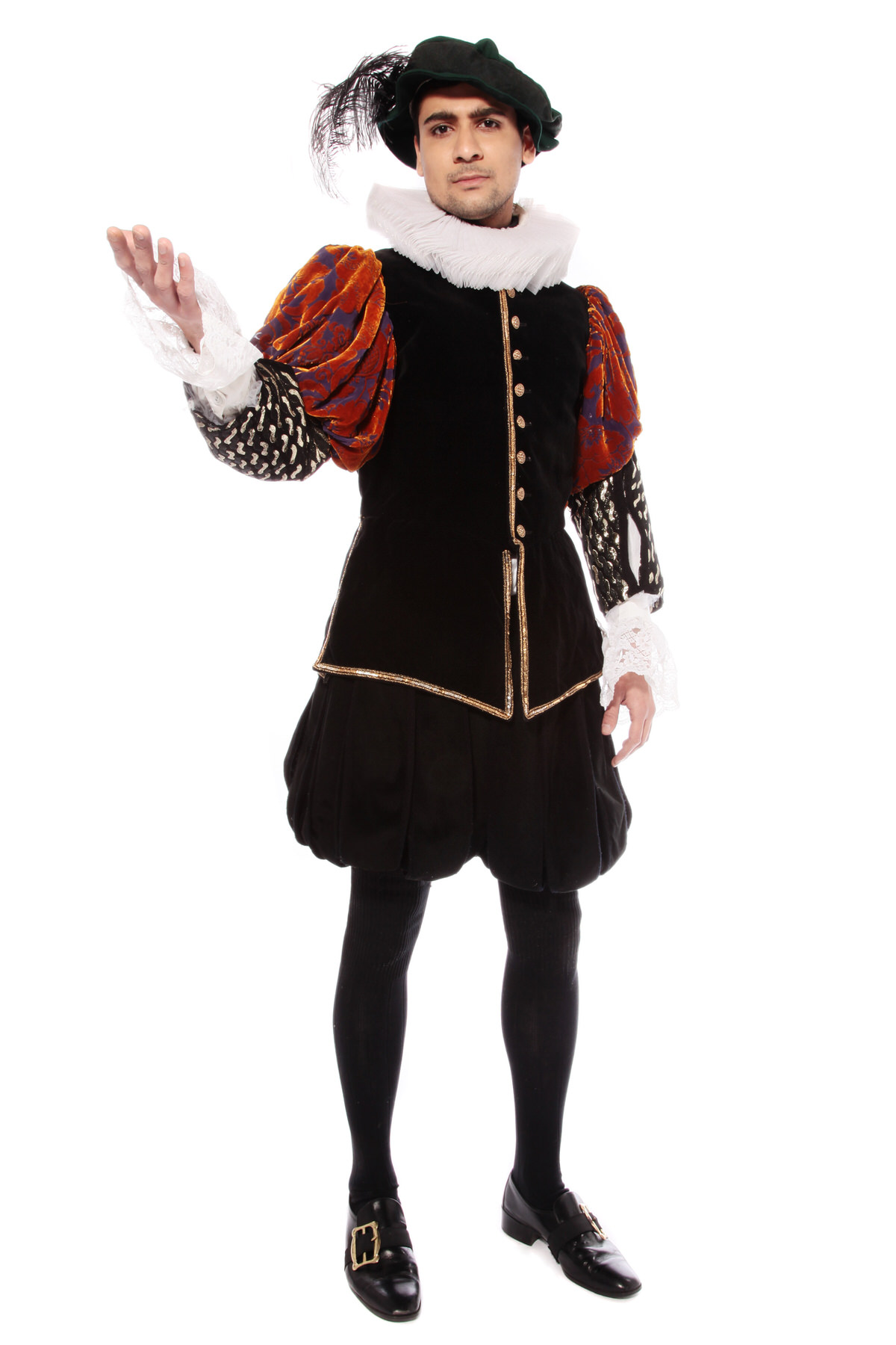 ELIZABETHAN MAN BLACKADDER COSTUME