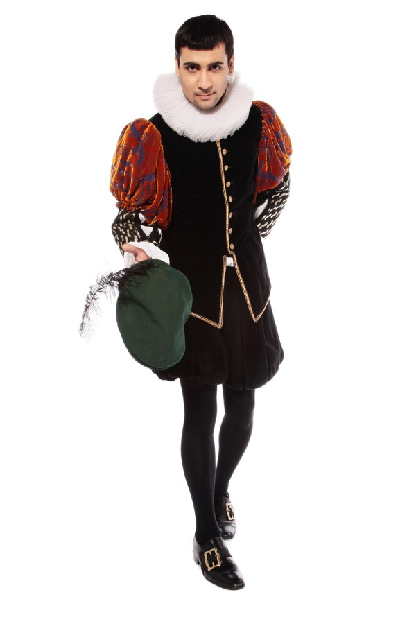 ELIZABETHAN MAN BLACKADDER COSTUME