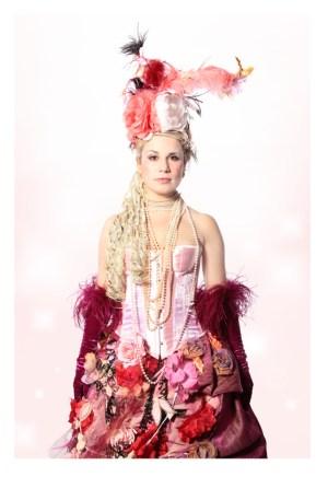 MARIE ANTOINETTE FLORAL COSTUME