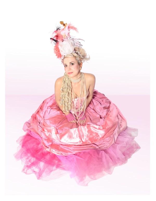MARIE ANTOINETTE PINK TULLE SKIRT COSTUME B