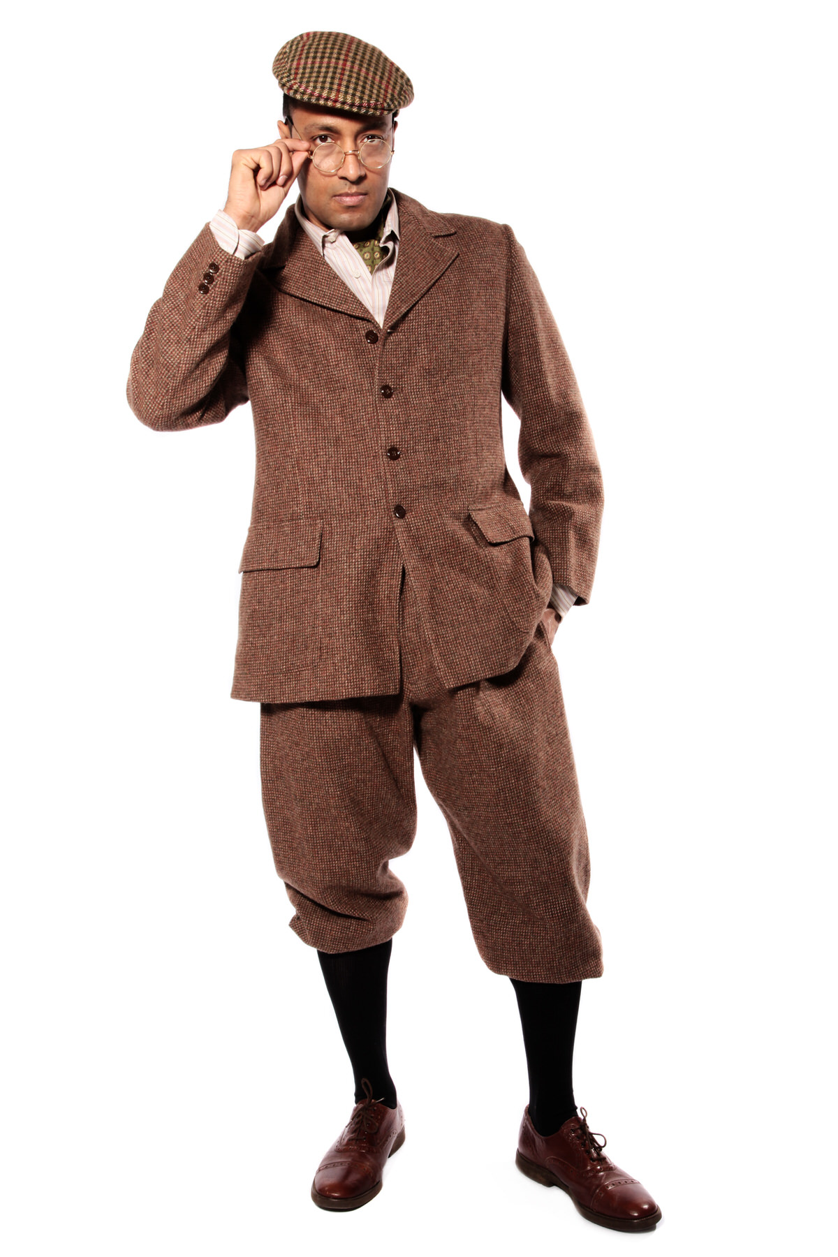 1920s COUNTRY GENT W TWEED JACKET & PLUS FOURS