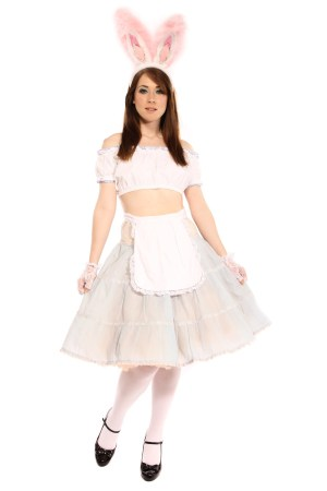 ALICE EASTER BUNNY GIRL COSTUME
