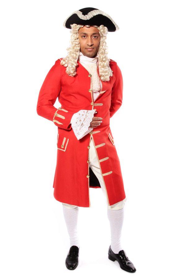 GEORGIAN GENT RED COSTUME