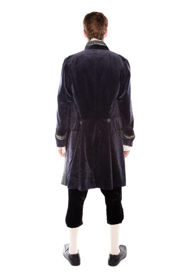 INTERVIEW WITH A VAMPIRE STYLE COSTUME rear