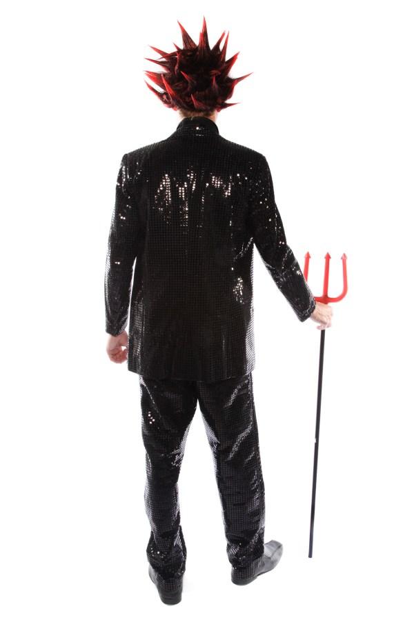 Punky devil costume back