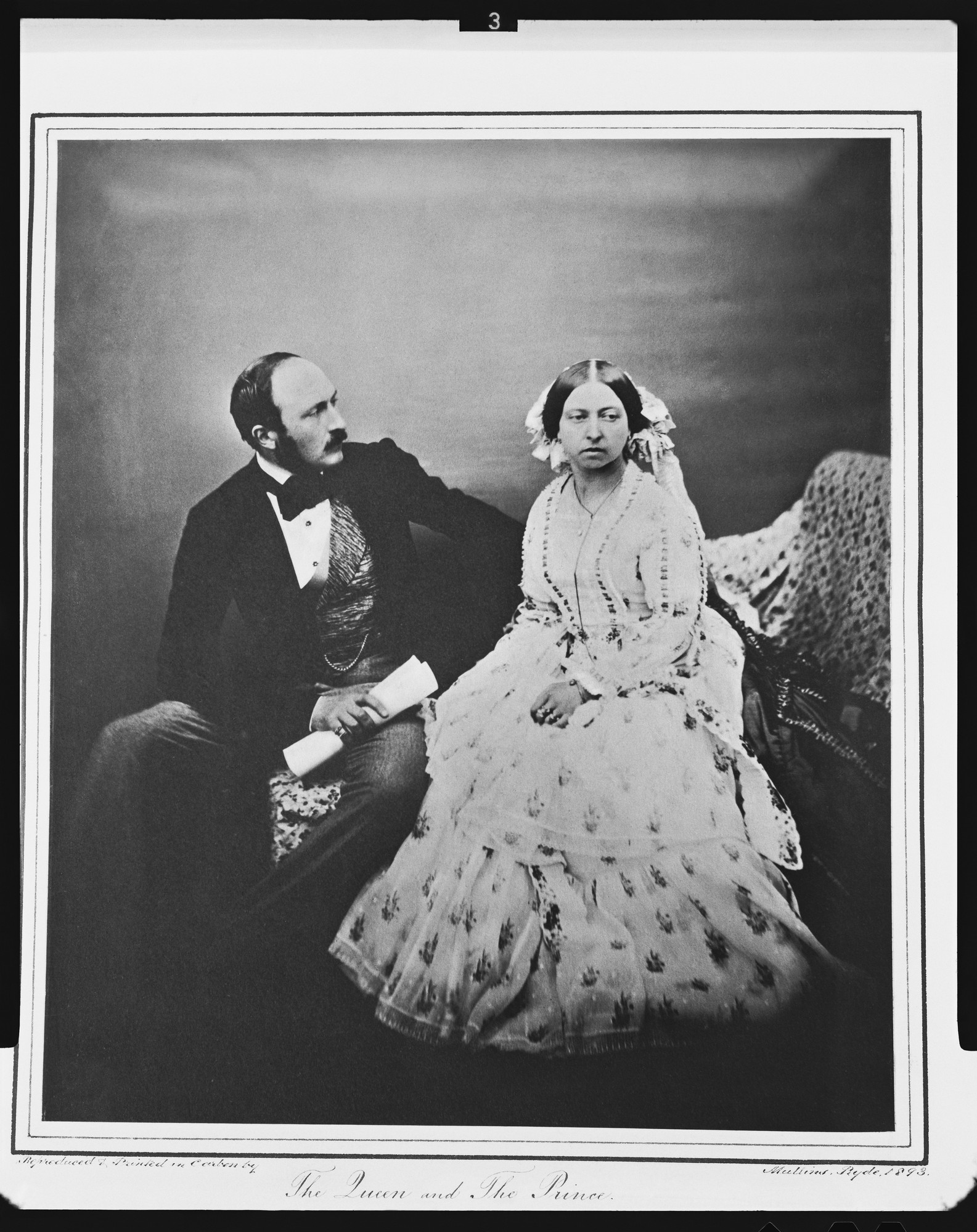 Queen Victoria and Prince Albert 1854  costume cocktail