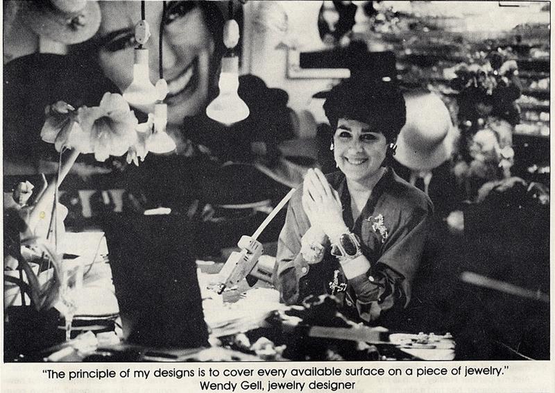 Jewelry Designer Wendy Gell