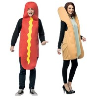 Couple's Costume  Hot Dog & Bun  Halloween Costumes and ...
