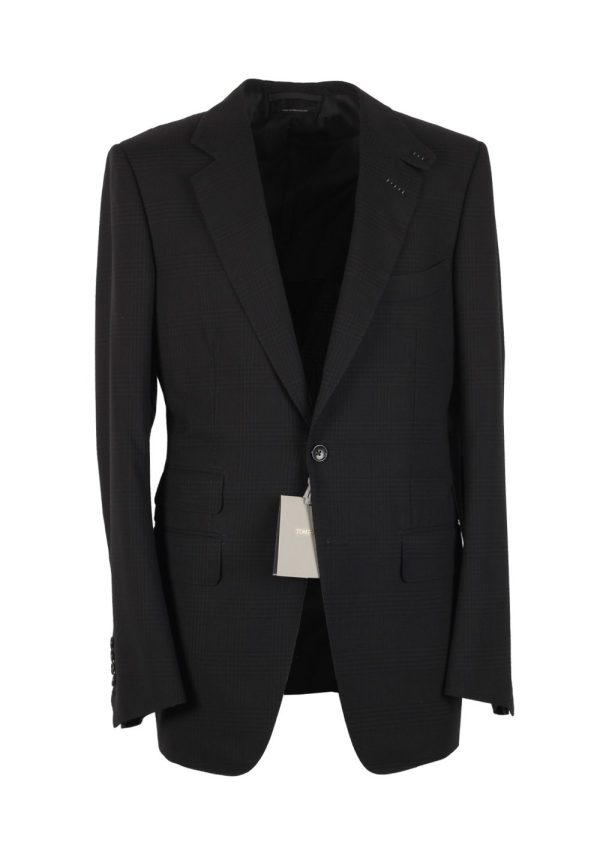 Tom Ford Connor Charcoal Suit Size 48 38r U. Wool