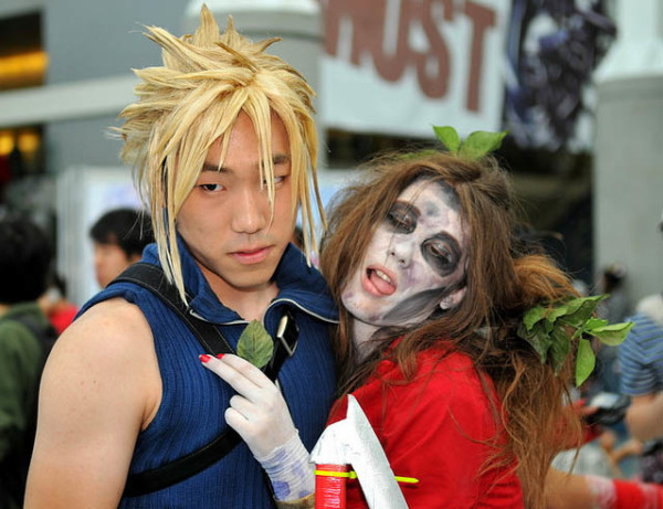 cloud and zombie aeris