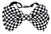 Checkered Bow Tie - CostumePub.com