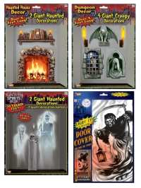 Haunted House Wall Or Door Decorations - Costumes R Us LTD ...