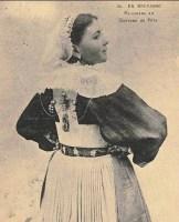 jeune femme bretonne