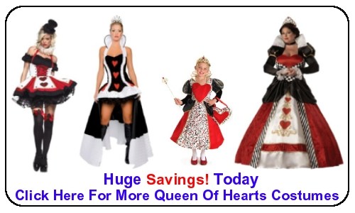Queen Of Hearts Costumes