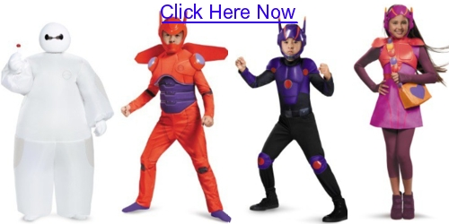Big Hero 6 Costumes