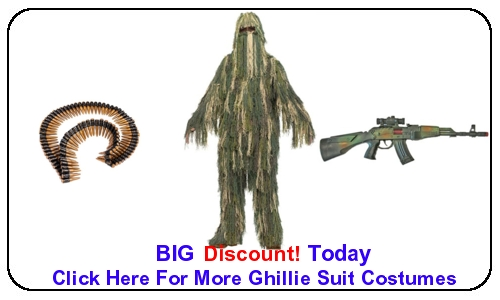 Ghillie Suit Costumes