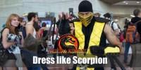 Scorpion (Mortal Kombat) Costume for Halloween 2019