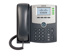 Cisco SPA504G 4-Line IP Phone with 2-Port Switch, PoE and LCD Display-0