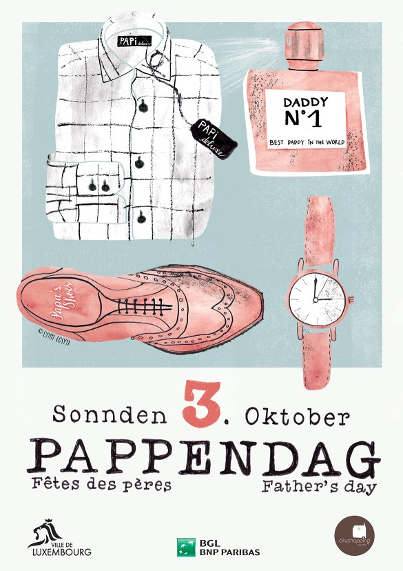 Pappendag - Fathers'Day - Lynn Cosyn