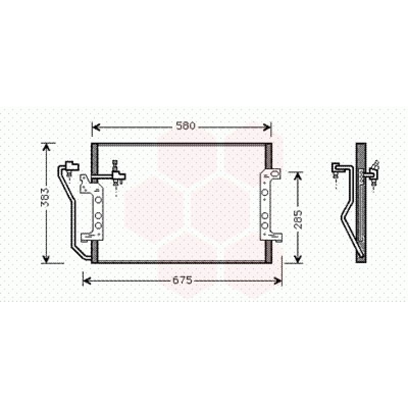 Condenseur climatisation Mercedes Classe A W168