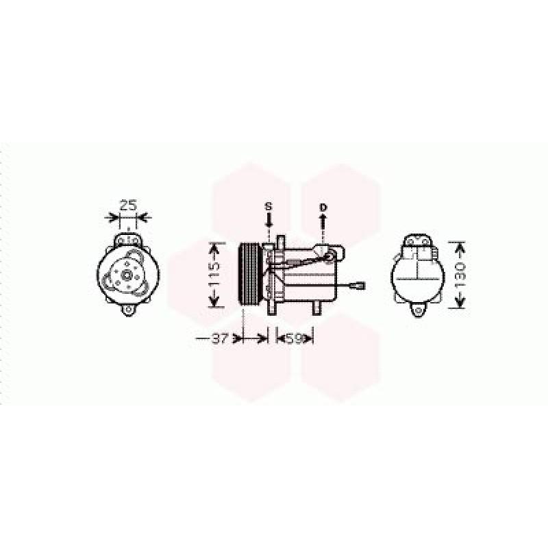 Compresseur Climatisation Suzuki Grand Vitara