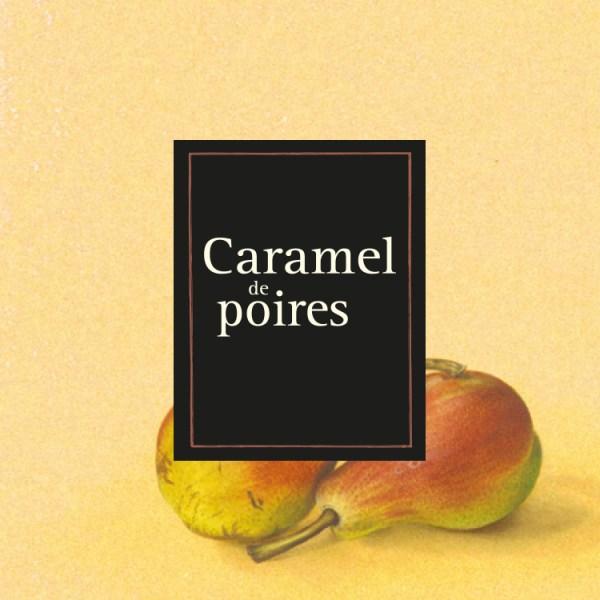 Caramel-poire