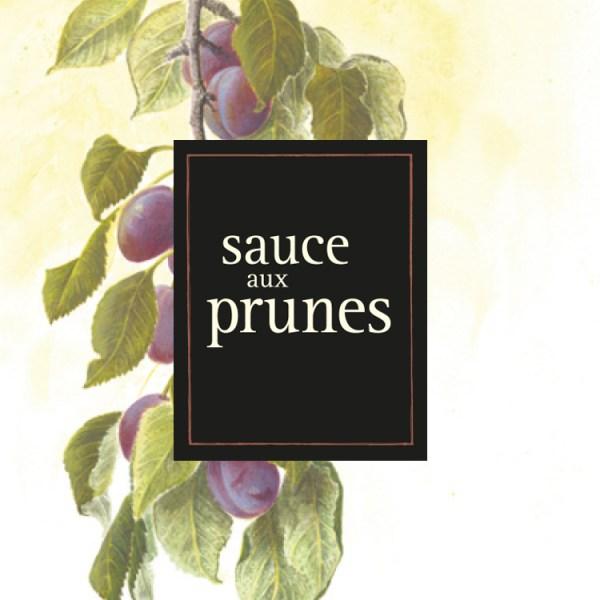 sauce au prunes