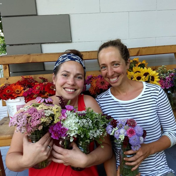 Perle, Jacinthe et des bouquets