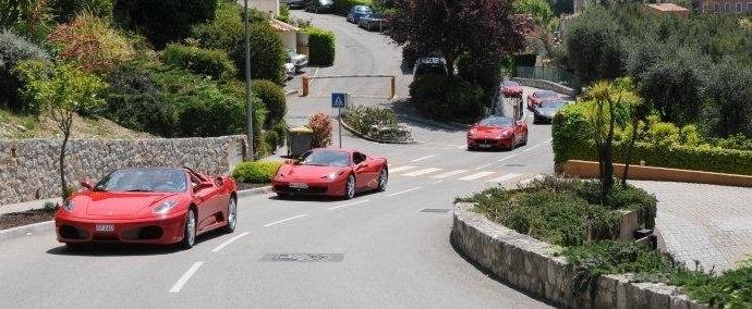 Driving experience sur la Côte d'Azur
