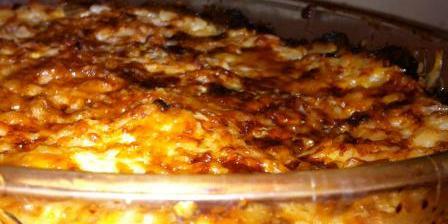 Gratin de courgettes et de riz
