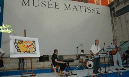 Jazz le 23 juin au Musée Matisse
