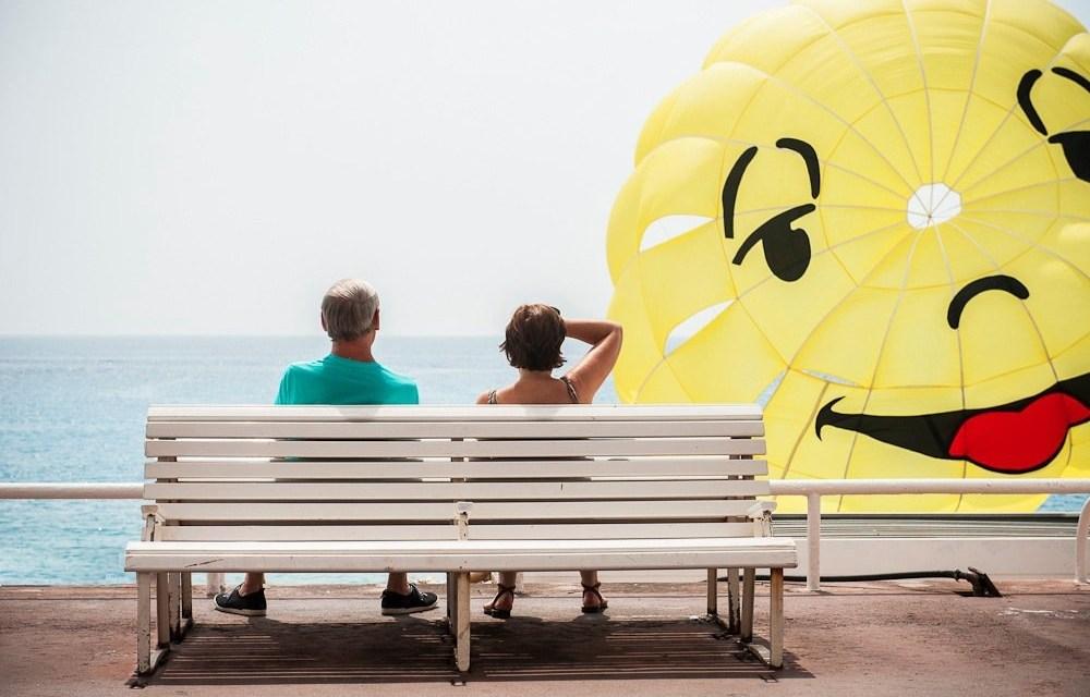 Photo de la semaine : Les vacanciers et le parachute ascensionnel