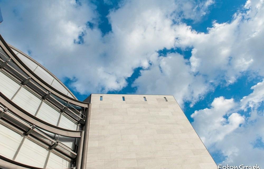 Photo de la semaine : Le MAMAC de Nice et les nuages
