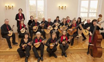 Concert de mandolines au musée Jean Cocteau