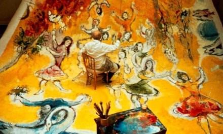 Marc Chagall, portrait d'un voyageur