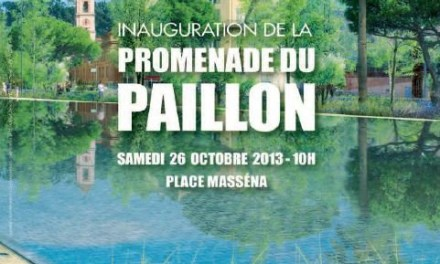 Inauguration de la promenage du Paillon
