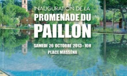 Inauguration de la promenage du Paillon