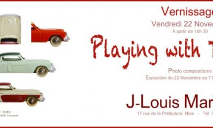 Exposition Playing with Toy cars