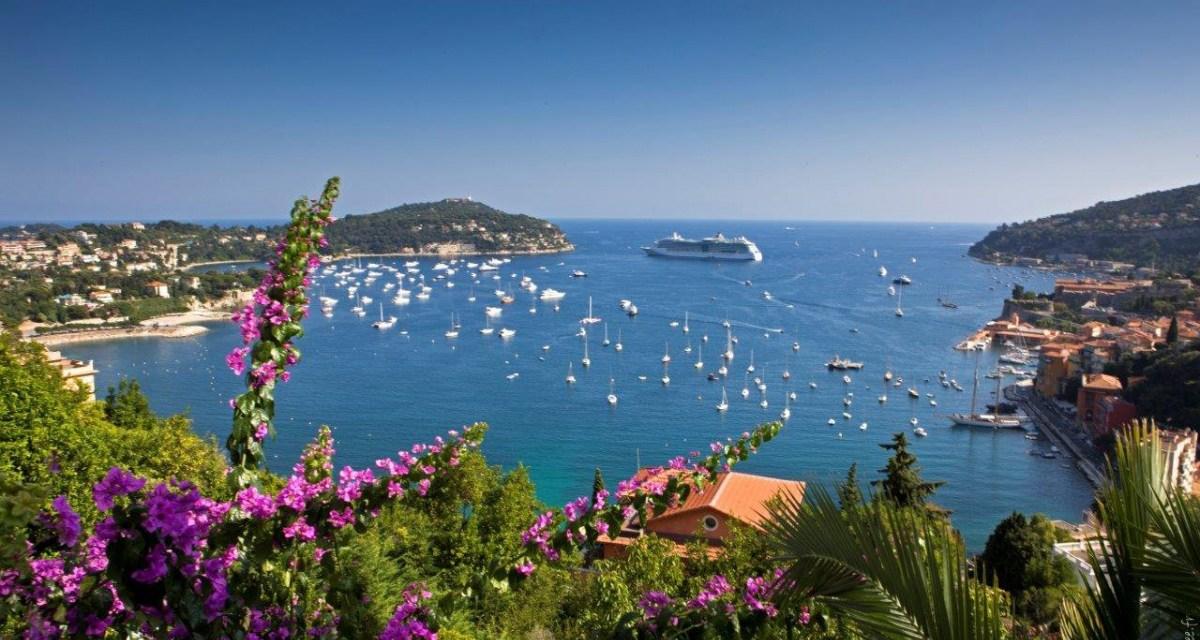 Photo de la semaine : La Rade de Villefranche-sur-Mer