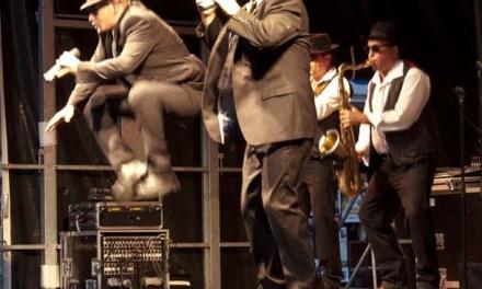 Les Blues Brothers en concert caritatif à l'Ayguade