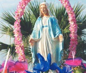 Procession de la Vierge Marie