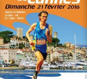 Le 10 km et semi-marathon de Cannes