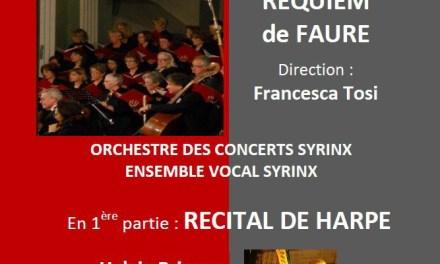 Syrinx Concerts, Requiem de Fauré