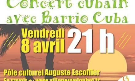 Concert cubain avec Barrio Cuba