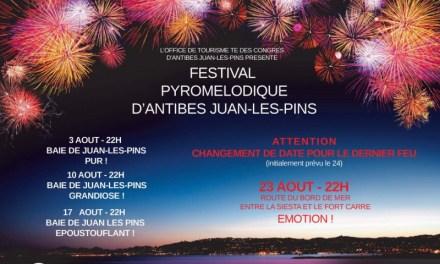 Feux d'artifices et Festival Pyromélodique