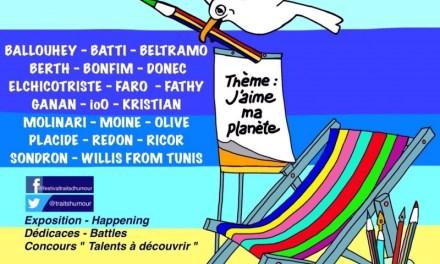 Traits d'humour Festival du dessins de presse, caricature, d'humour
