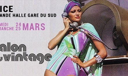 Le Salon du Vintage à Nice les 24 et 25 mars 2018