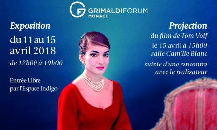 Maria By Callas au Grimaldi Forum du 11 au 15 avril 2018